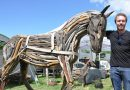 Artist branches out into driftwood creations