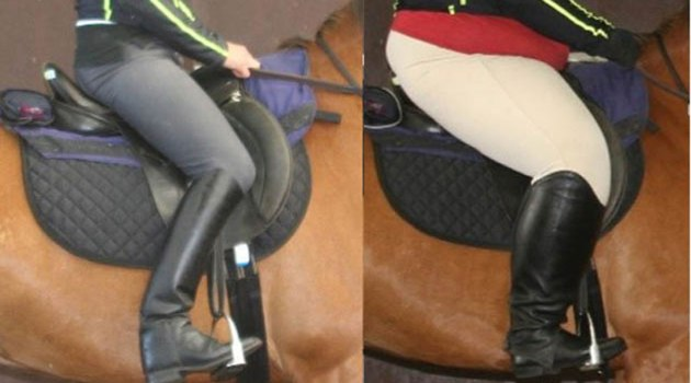 A British study has shown that high rider-horse bodyweight ratios can induce temporary lameness and discomfort.