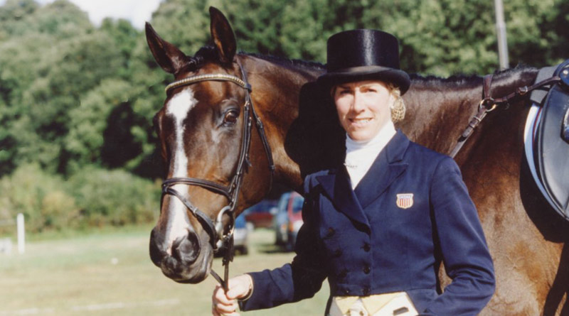 Kerry Millikin and Out and About at the 1998 World Equestrian Games.
