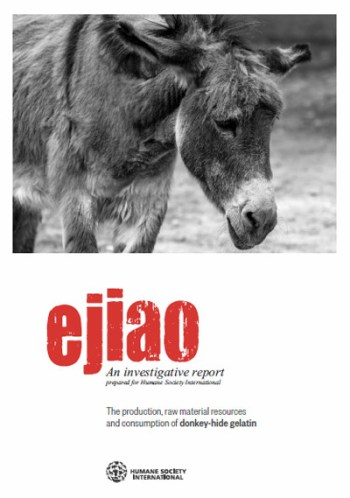 The Humane Society International has completed a report on the ejiao industry.