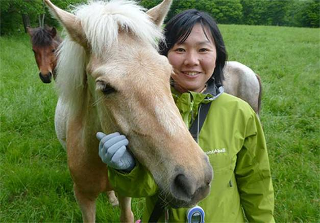 Associate Professor Ayaka Takimoto of Hokkaido University.