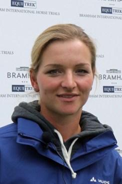 Bramham CCI3* Horse Trials winner Julia Krajewski.