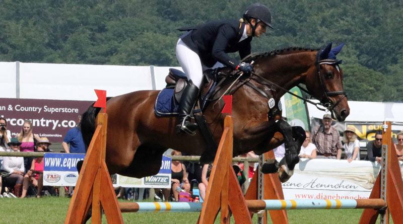 Bramham CCI3* Horse Trials winnerJulia Krajewski and Chipmunk FRH.