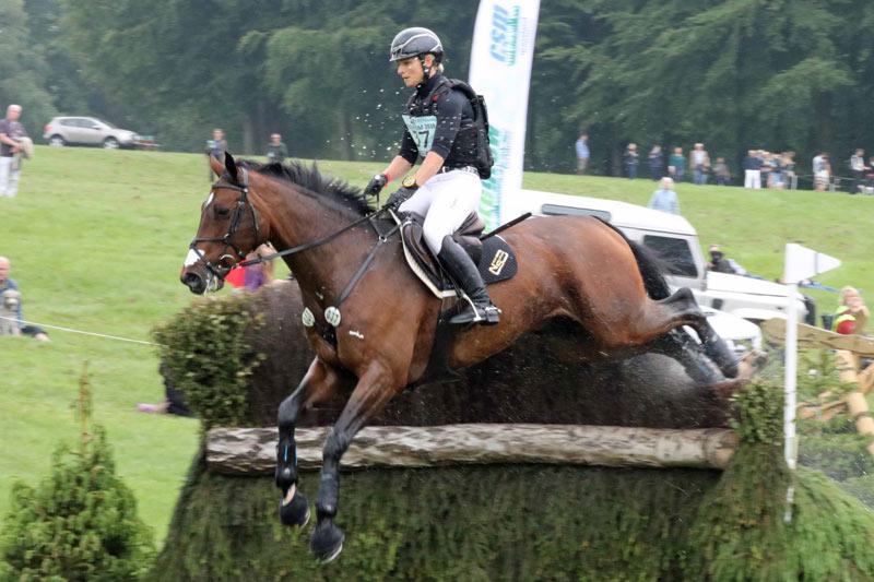 Julia Krajewski and Chipmunk FRH led from start to finish to take out theBramham CCI3* Horse Trials.