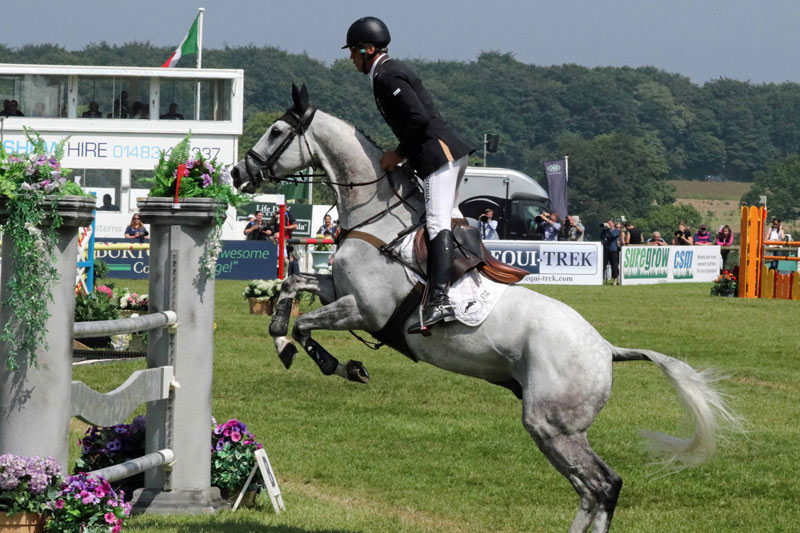 Andrew Nicholson and Swallow Springs, second overall in the Bramham CCI3* Horse Trials.