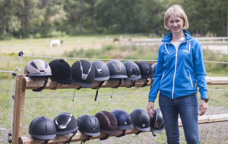 """""""There is a great potential to make helmets safer,"""" Folksam researcher Helena Stigson says."""