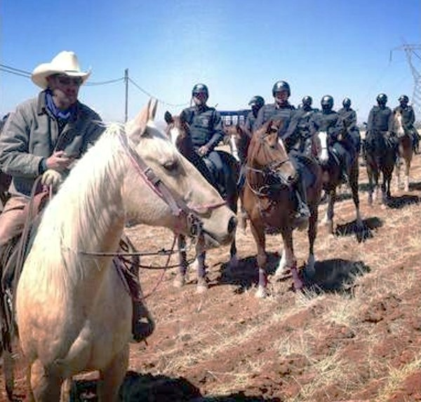 In order to ensure Filipe's safety, the Mexican government authorized a patrol of heavily armed mounted police to escort him through a notoriously dangerous portion of the country.