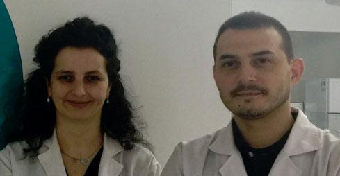 Equigerminal founders Alexandre Vieira Pires and Isabel Fidalgo Carvalho.