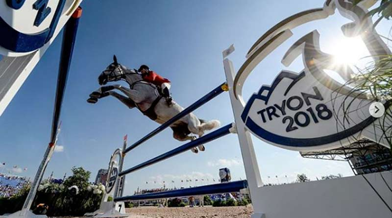 format of FEI championships that launched inward  Tentative hands upward from thirty venues to host FEI World Championships