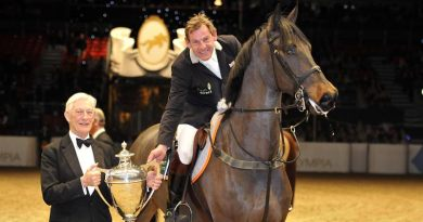 Showjumping loses popular personality Tim Stockdale