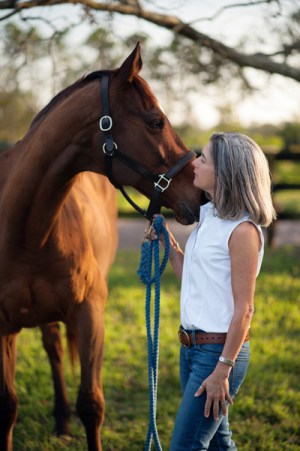 Dr Emily Weiss, vice-president of the ASPCA's Equine Welfare department.