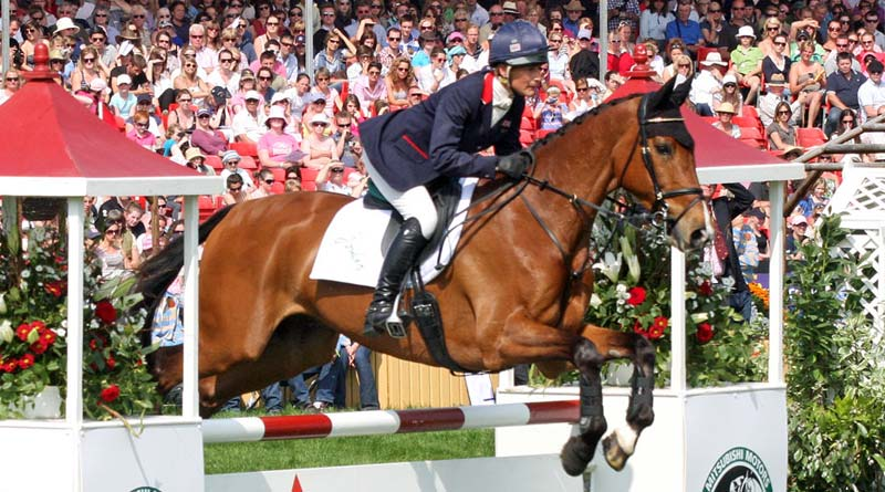 Mary King and Imperial Cavalier at Badminton in 2011.