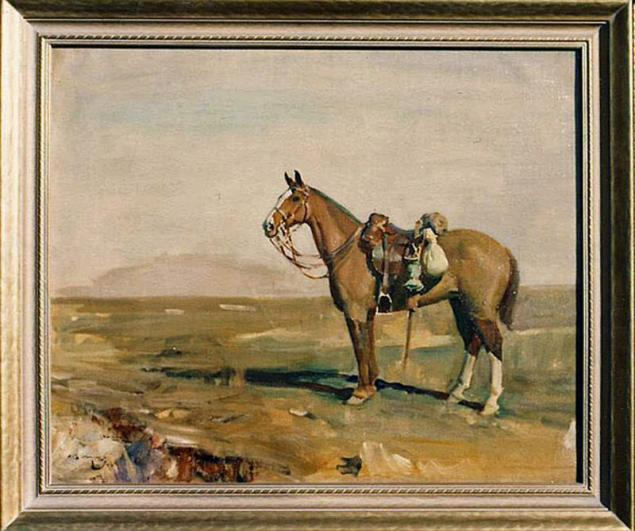 Peggy, 1918, the Sir Alfred Munnings oil-on-canvas painting as featured on the Winnipeg Art Gallery website. Photo: Winnipeg Art Gallery