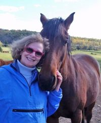 Horses and Humans Research Foundation board presidentPam Cusick.