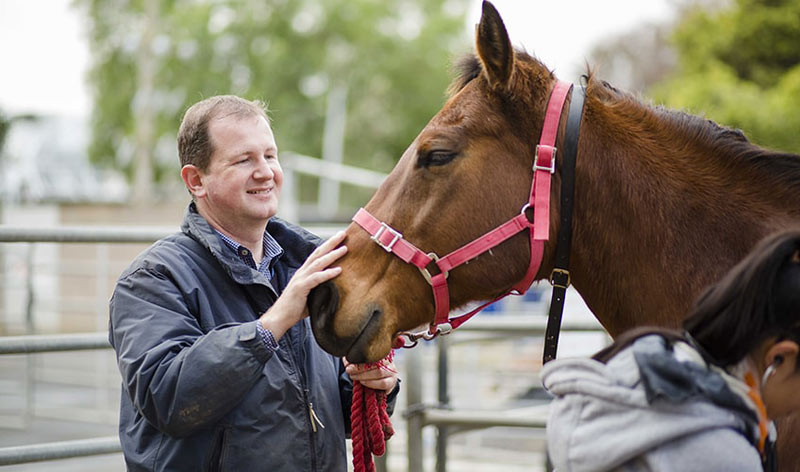 Simon Bailey is a Professor of Pre-clinical Veterinary Sciences at the Melbourne Veterinary School, University of Melbourne.©University of Melbourne