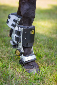 The Fast Track boots take the weight off tendons and ligaments.