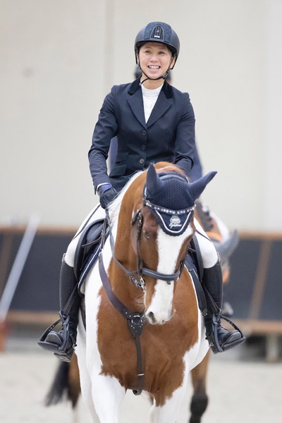 Shino Hirota and the skewbald Life is Beautiful will represent Japan at the Longines FEI Jumping World Cup 2019 Final in Gothenburg next month.