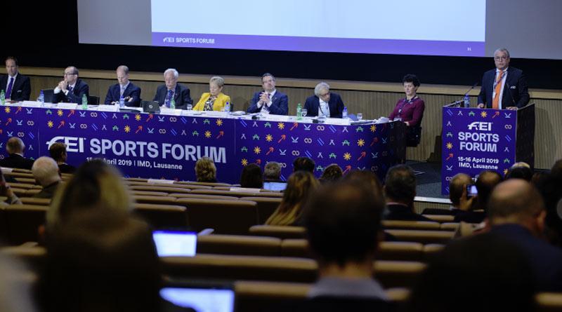 FEI Director Endurance Manuel Bandeira de Mello at the FEI Sports Forum.