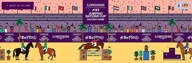 s footing governing trunk has joined the growing  FEI launches online fantasy showjumping game