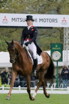 Kristina Cook (GBR) and Billy The Red.