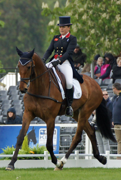 Pippa Funnell (GBR) and Billy Walk On.