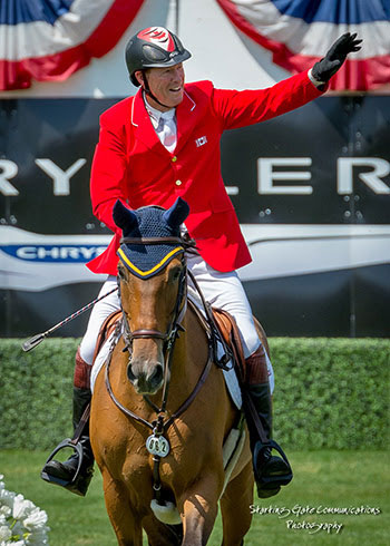 "Ian Millar celebrates afterwards he too Dixson won the  ""Journey of a lifetime"" over equally Ian Millar announces retirement"