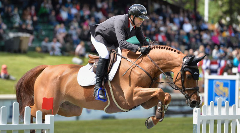 Eric Lamaze (CAN) and Chacco Kid © Spruce Meadows Media/Mike Sturk