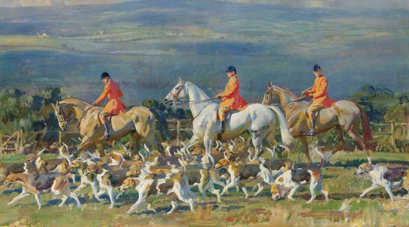 The Bramham Moor Hounds at Weeton Whin sold for £2,171,250 at auction in London on July 11.