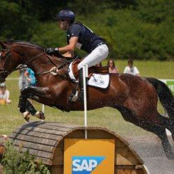 Tim Price and Wesko on the cross-country at the CCI4*-S Arville Event Rider Masters in Belgium. © Event Rider Masters