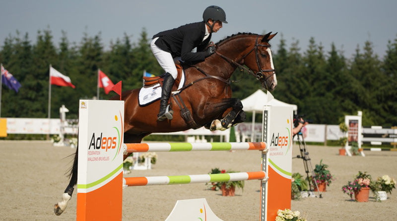 Tim Price and Wesko won the CCI4*-S Arville Event Rider Masters in Belgium at the weekend.