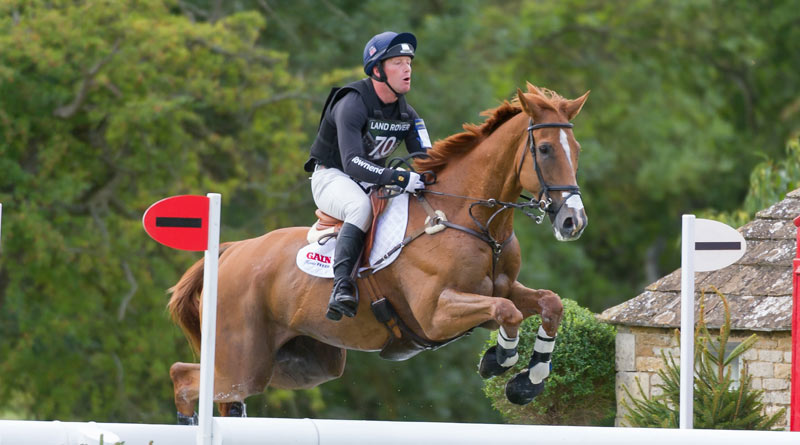 Oliver Townend and Armada at Burghley.