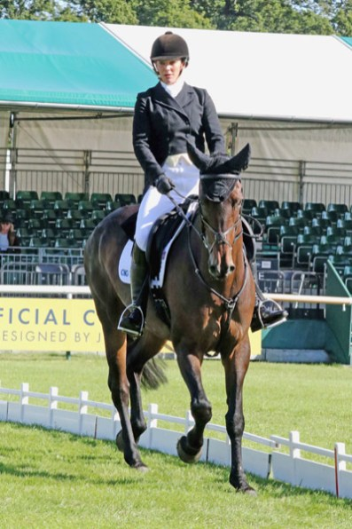 Hazel Towers (GBR) on Simply Clover