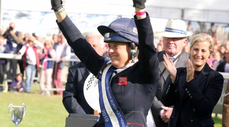 Burghley winner Pippa Funnell.