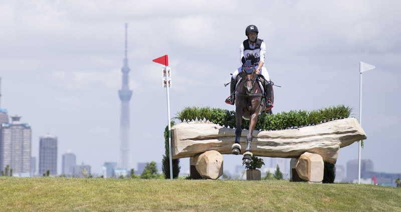 The Ready Steady Tokyo test event in August was won by Olympic champion Michael Jung (GER) with Fischerwild Wave
