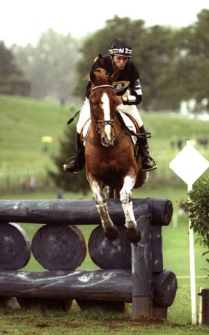 Blyth Tait and Ready Teddy, winners of the 1998 World Eventing Championship, in Rome.
