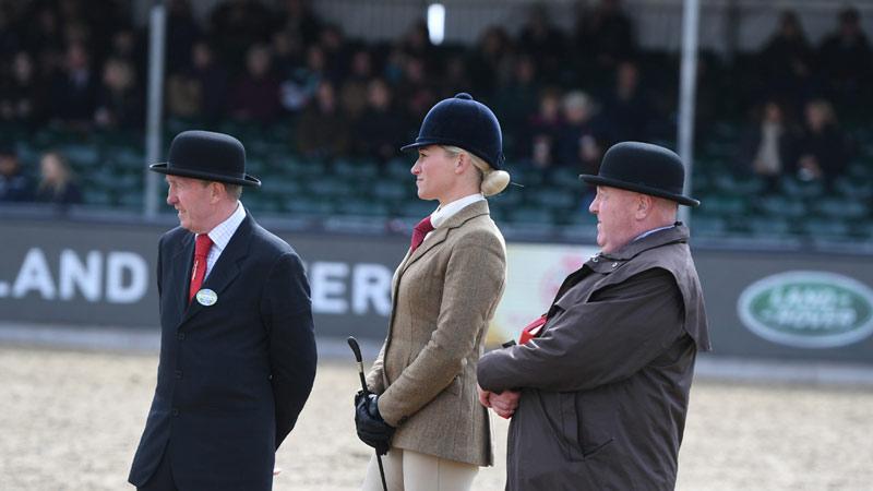 Judges at the Royal Windsor Horse Show.