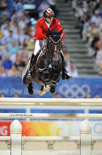 2008 Beijing Olympic show jumping champions Eric Lamaze and Hickstead will be inducted into Canada's Sports Hall of Fame. Photo by ClixPhoto.com