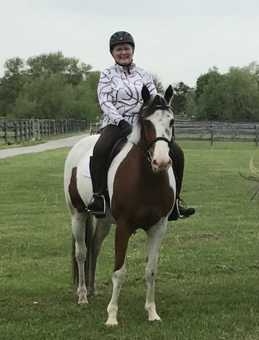 Sheryl Kerr's donation to Equine Guelph will support Equine Education and Community Outreach.