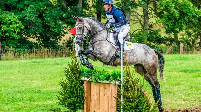 Oliver Townend and Cooley Rosalent won Burgham's CCI2*-S section P class on Sunday.
