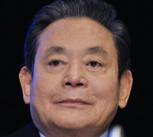Lee Kun-hee (1942-2020).