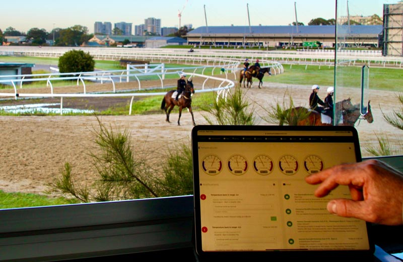 StableWizard's founders say the new system will modernise equine management.