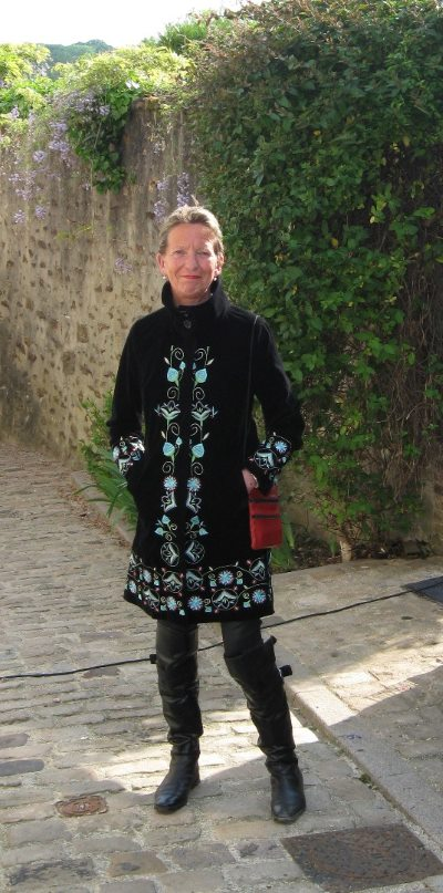 """Basha O'Reilly, pictured in Toucy, France. She once said: """"Equestrian travel was what I wanted to live for. Riding Pompeii had taught me that you can either have faith or fear, but not both. That was my mantra now."""""""