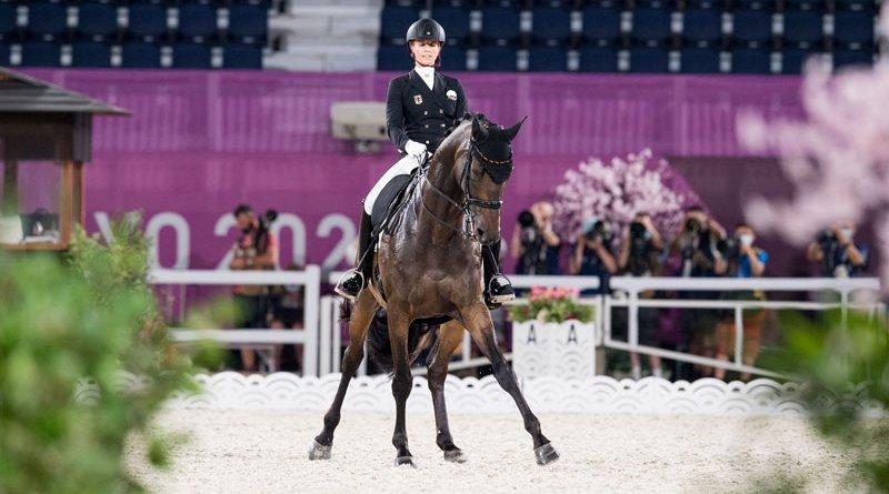 Jessica von Bredow-Werndl and TSF Dalera have won individual dressage gold at Tokyo 2020.