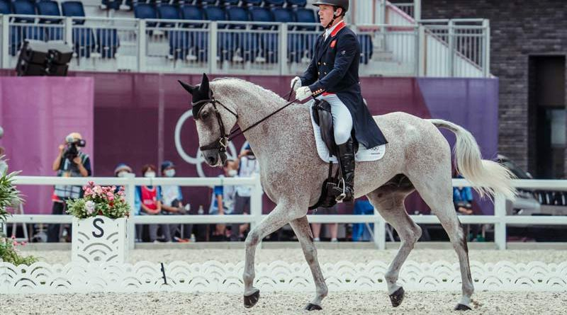World No.1 Oliver Townend helped Great Britain take the lead with the best individual score on the first day of the dressage phase of Eventing at the Tokyo 2020 Olympic Games in Baji Koen on Friday.