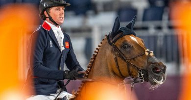 Tokyo 2020 Individual gold jumping medalist Ben Maher and Explosion W.