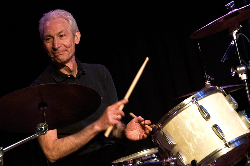 Charlie Watts has died at the age of 80.