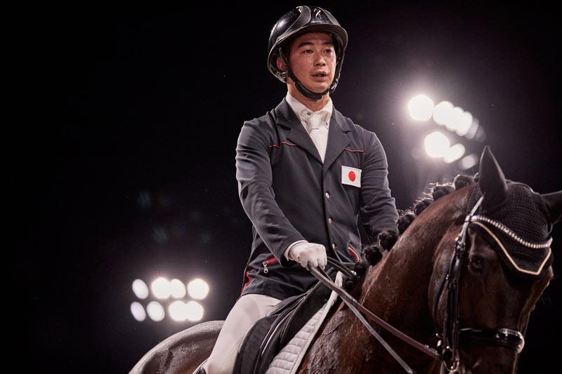 Katsuji Takashima and Huzette represented Japan at the Tokyo 2020 Paralympics.