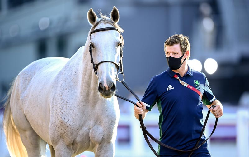 Shane Sweetnam and Alejandro are replacing Cian O'Connor and Kilkenny on the Irish team for the Tokyo 2020 team jumping competition.