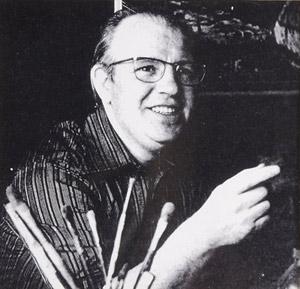 Manchester artist Arthur Delaney.