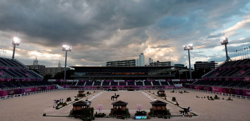 The Baji Koen Equestrian Park was the venue for most of the equestrian events of the Tokyo 2020 Olympic and Paralympic Games.